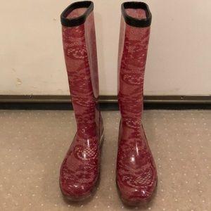 Bootsi Tootsi  Rain Boots, size 7  BNWOT
